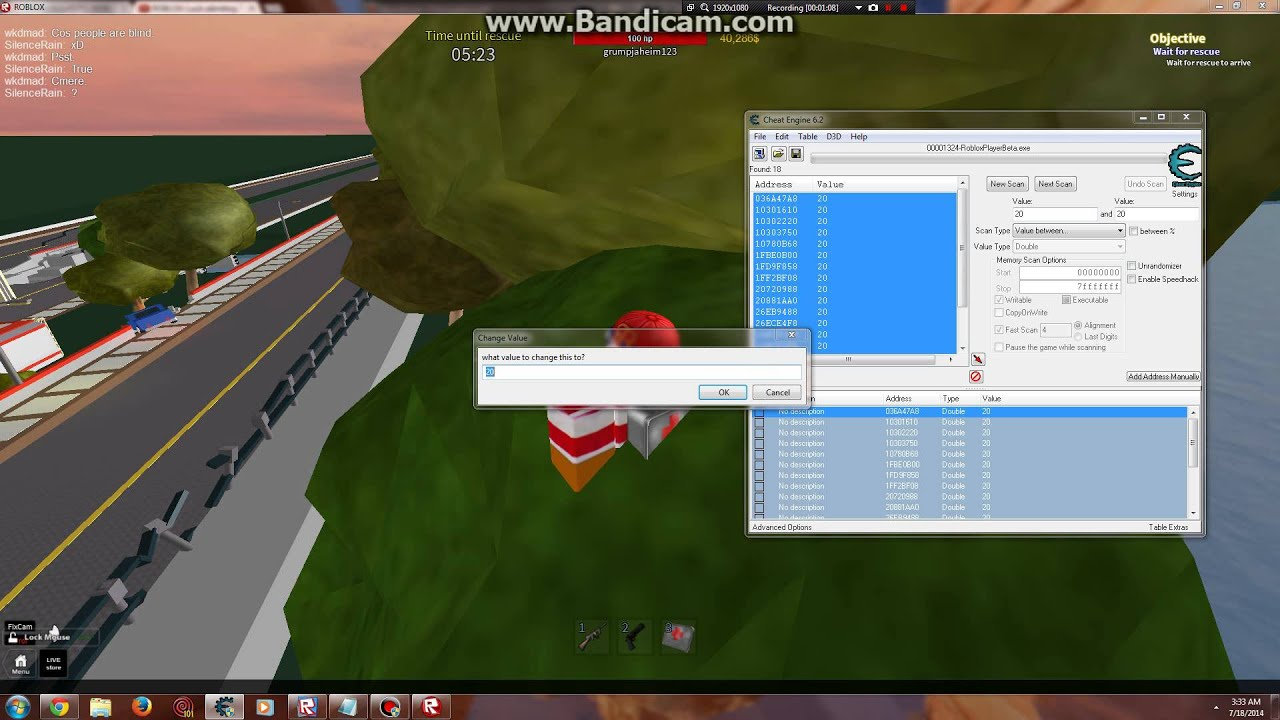roblox how to hack the damage of your gun on reason 2 die youtube