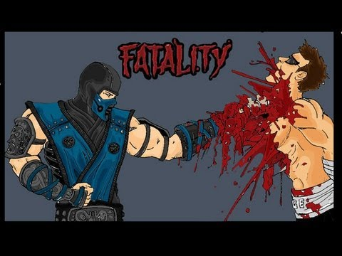 ALL Mortal Kombat Fatalitites From MK1 To MK9 HD