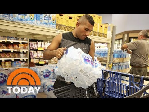 Galveston Texas Prepares For Hurricane Harvey | TODAY