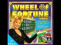 Wheel of Fortune 1998 PC 6th Run Game #1