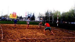 Немножко пляжного волейбола от любителей. #волейбол_владимир
