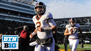 Morgan, DeLattiboudere Talk Outback Bowl Selection | MInnesota Football