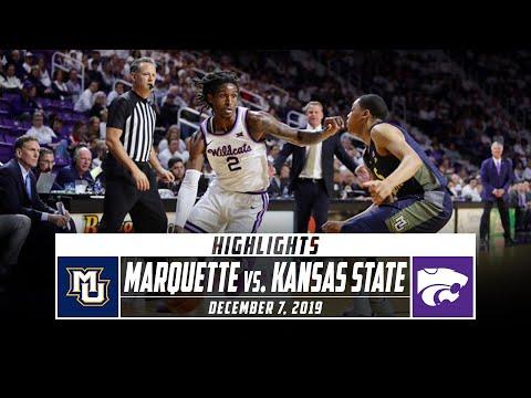 Marquette Vs. Kansas State Basketball Highlights (2019-20)   Stadium