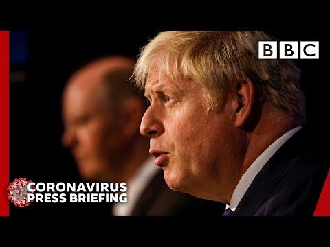 Boris Johnson announces Covid winter plan 🇬🇧 Government Press Conference @BBC News live 🔴 BBC