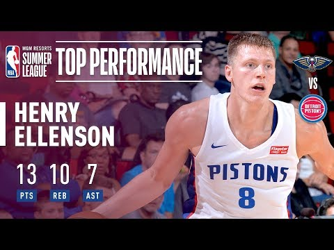 Henry Ellenson Fills Up the Stat Sheet vs Pelicans | 2018 MGM Resorts Summer League