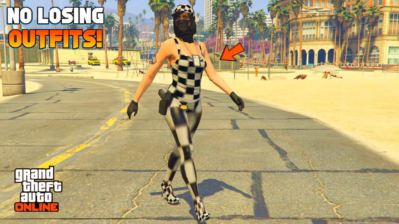 *EASY* HOW TO GET A FULL CHECKERBOARD OUTFIT FEMALE - NO TRANSFER! - GTA 5 MODDED OUTFIT TUTORIAL