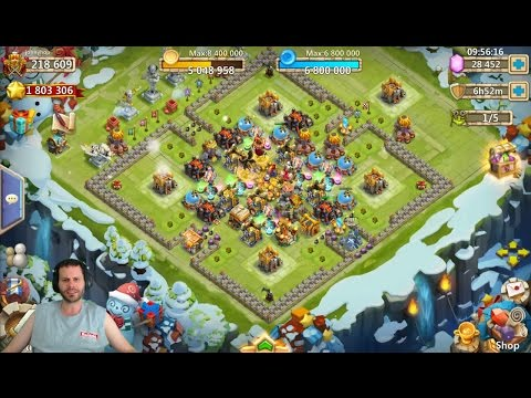 IGG Laying The Smack Down Rolling 28k Nice Account Castle Clash