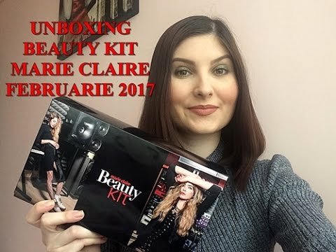 UNBOXING BEAUTY KIT MARIE CLAIRE FEBRUARIE 2017