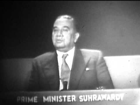 Interview with Prime Minister Huseyn Shaheed Suhrawardy of Pakistan