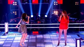 Sheena Mchugh Vs Hollie Barrie: Battle Performance - The Voice Uk 2015 - Bbc One