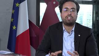 Colloque Blockchains et Compétences Mounir MAHJOUBI secrétaire d'Etat chargé du Numérique