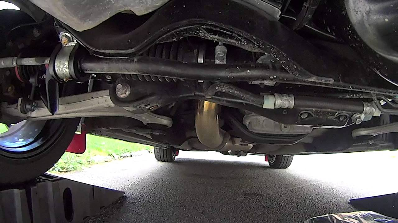 2013 WRX STi, Whiteline Front & Rear Sway bar & - YouTube