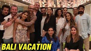 Sonam Kapoor Anand Ahuja Bali Vacation   Anil Kapoor And Family Join