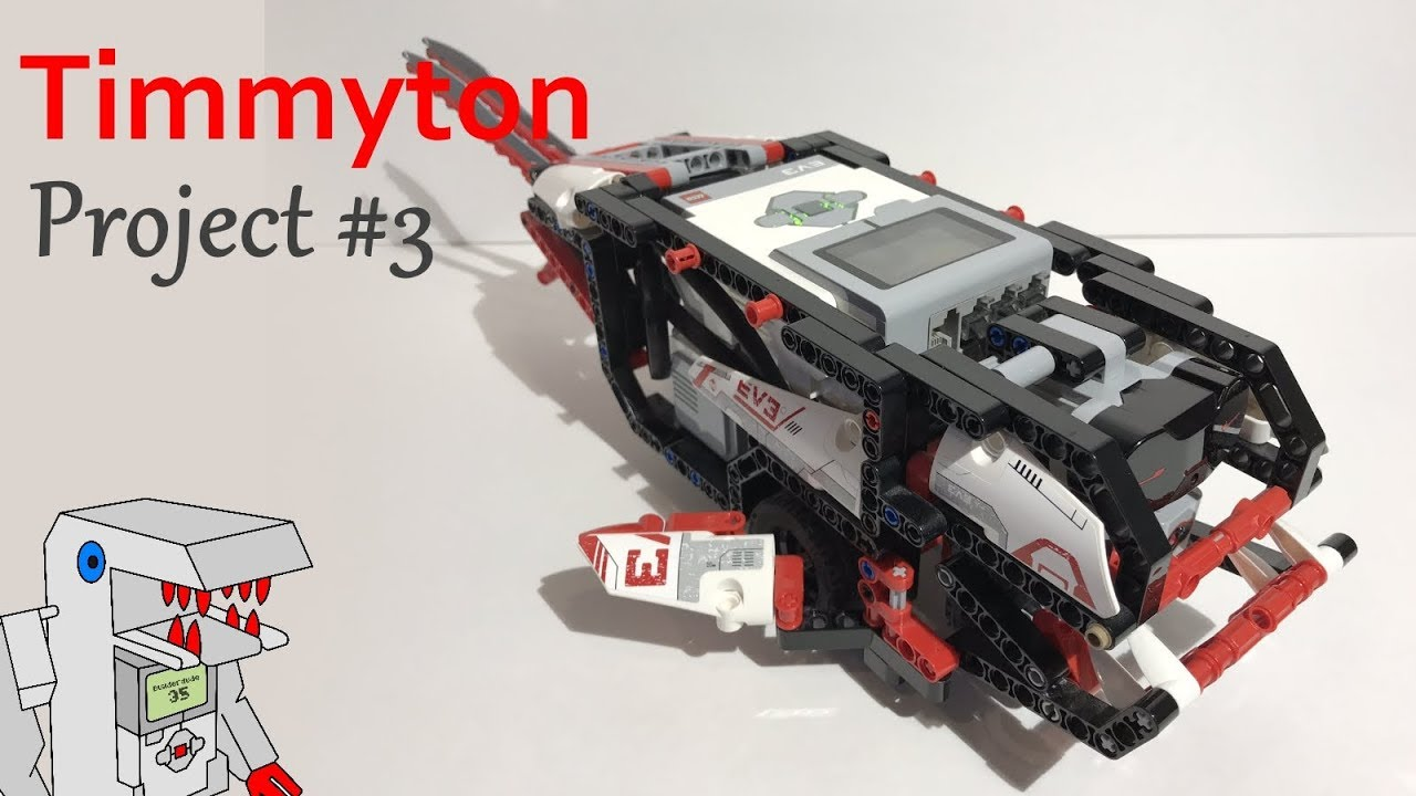 Timmyton Project 3 From Building Smart Lego Mindstorms Ev3 Robots