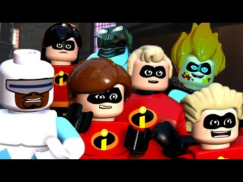 LEGO The Incredibles & Incredibles 2 - All Cutscenes Movie