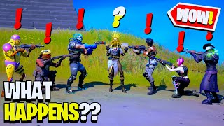 What Happens if Boss Orelia Meets ALL Bosses in Fortnite!