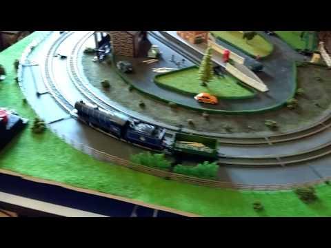 Hornby trakmat extension 3, complete track plan.