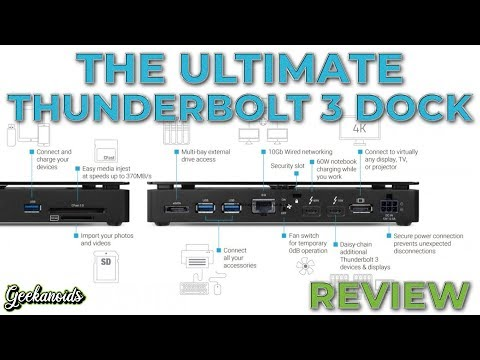 OWC Thunderbolt 3 Pro Dock Review