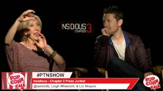 Insidious Chapter 3 -  Leigh Whannell And Lin Shayne