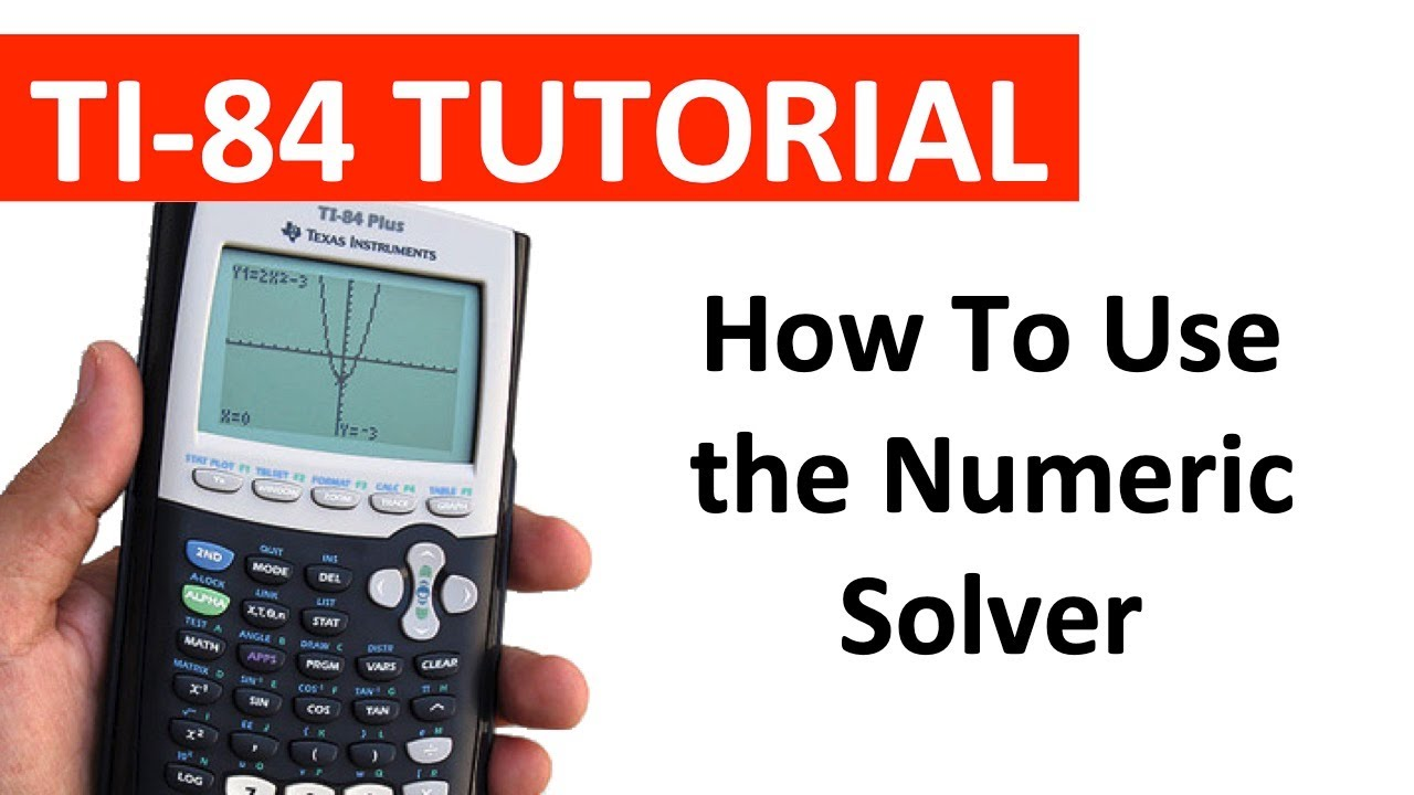 Using the numeric solver to solve equations in quadratic form ti using the numeric solver to solve equations in quadratic form ti 84 ccuart Image collections