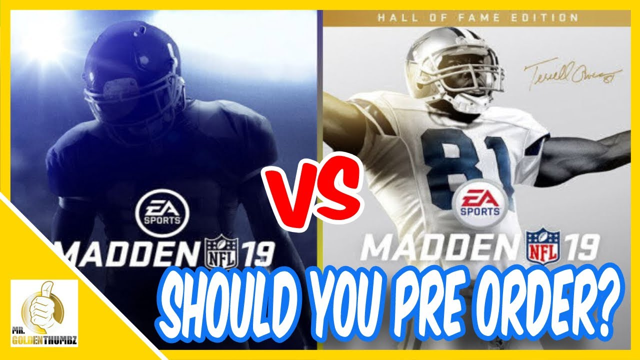 Madden NFL 19 Hall of Fame Content Upgrade: Which One is