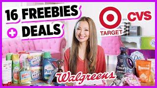 ★ FREE Makeup + 32¢ Razors! Top 16 Freebies & Deals Target, CVS Couponing!