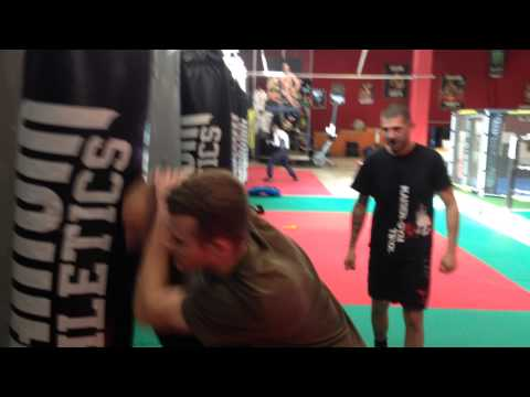 MMA Meets Krav Maga - Fun Part 1