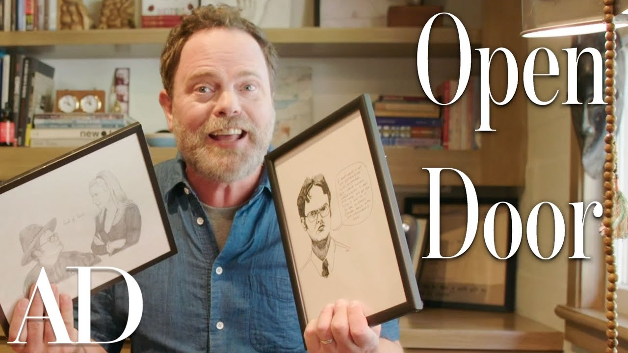 Inside Rainn Wilson's Artistic SoCal Homestead | Open Door | Architectural Digest