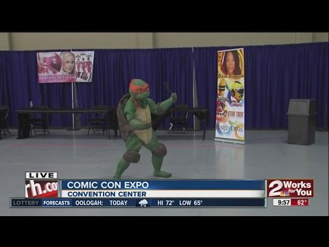 Tulsa Comic Con Expo