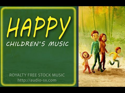 HAPPY / Children background music / Kids instrumental song - Royalty free stock music by Synthezx