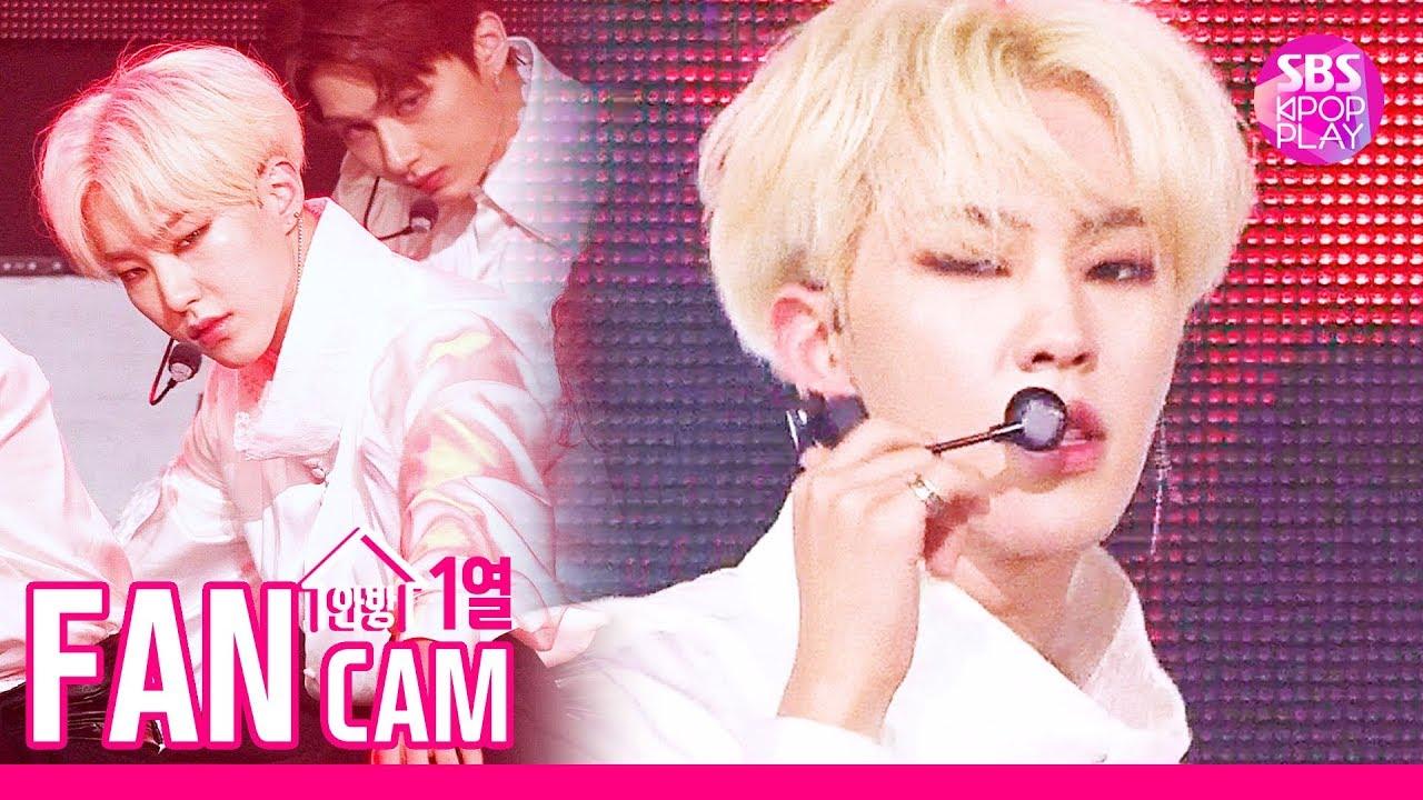 [안방1열 직캠4K] 세븐틴 호시 '독 : Fear' (SEVENTEEN HOSHI Fancam)│@SBS Inkigayo_2019.10.6