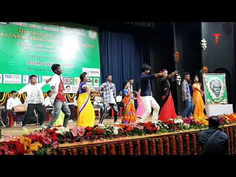 Santali new Dance  video ll AISWA conference 2019 ll bbsr ll odhisa
