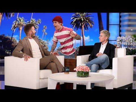 Justin Bieber Scares David Beckham