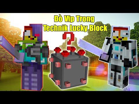 THỬ THÁCH 24H TÌM ĐỒ VIP NHẤT TRONG LUCKY BLOCK TECHNIK ** ĐỒ CÔNG NGHỆ SIÊU VIP CỦA NOOB