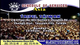 Please Watch!!! JMCIM Central Live Streaming of SUNDAY GENERAL WORSHIP | SEPTEMBER 01, 2019.