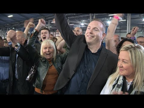 Chris Hazzard captures South Down in stunning victory for Sinn Féin