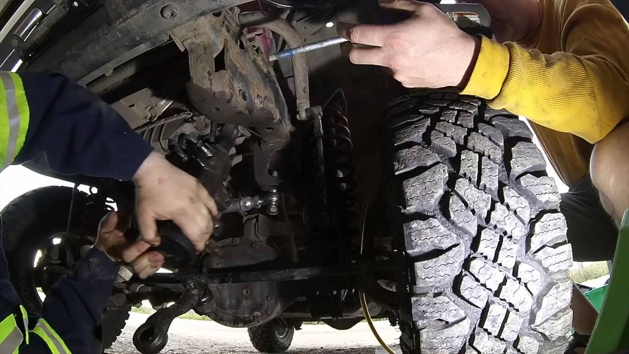 diy jeep tj xj power steering box replacement [ 1280 x 720 Pixel ]
