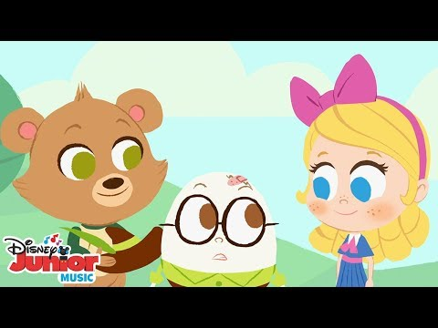 Humpty Dumpty 🐻 | 🎼 Disney Junior Music Nursery Rhymes | Disney Junior