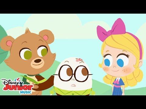 Humpty Dumpty 🐻 | 🎼 Disney Junior Music Nursery Rhymes | Disney Junior