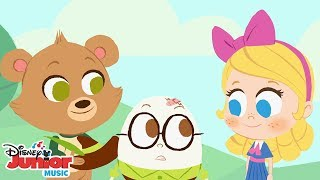 vuclip Humpty Dumpty 🐻 | 🎼 Disney Junior Music Nursery Rhymes | Disney Junior