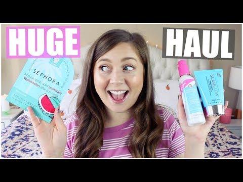 HUGE Skin Care + Sephora VIB Sale HAUL! 2018