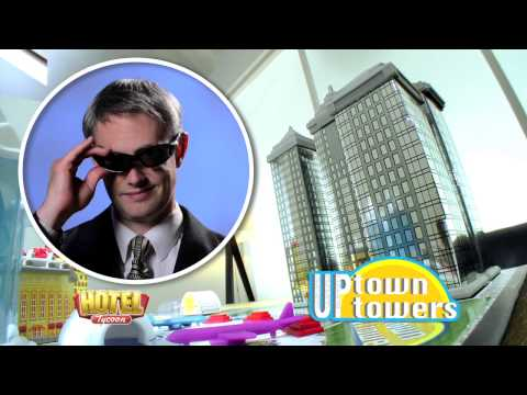 Hotel Tycoon Board Game - 2014 UK TV Ad
