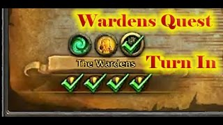 Wardens Emissary Quest Turn In