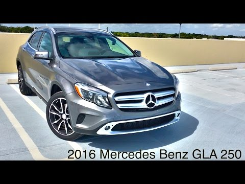 2016 Mercedes Benz GLA In Depth Review : Start Up : Detailed Specs