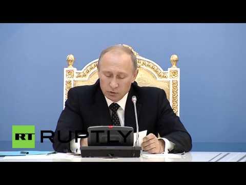 Kazakhstan: Putin touts bilateral economic ties