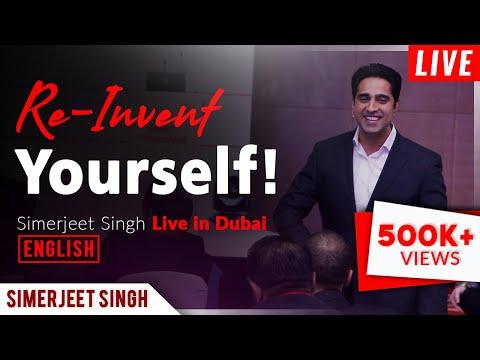 Motivational Speaker Dubai Simerjeet Singh - Keynote Preview