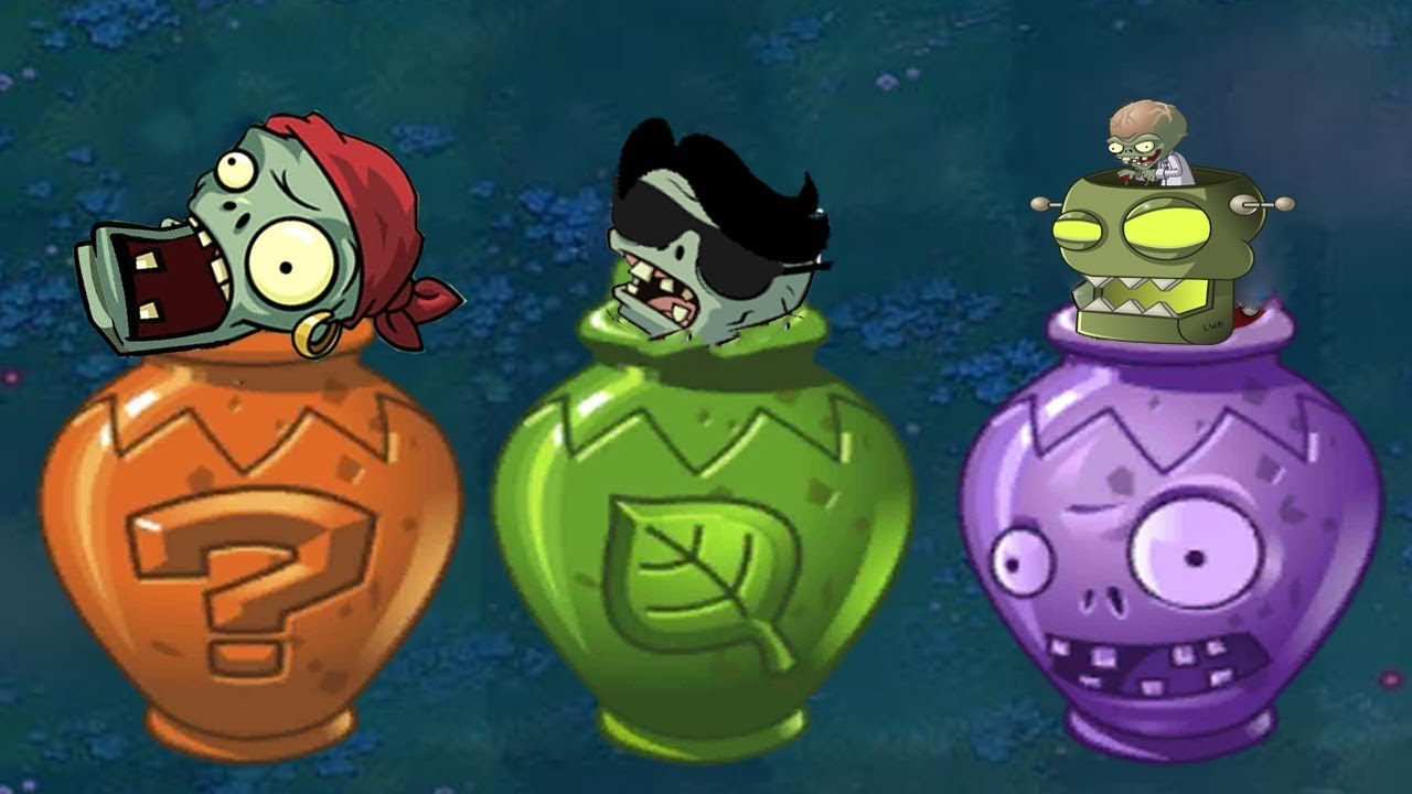 Zombie Vase vs Vase Dr Zomboss vs Basic Zombie | New Plants vs Zombies hack