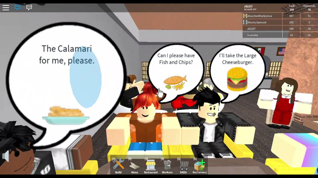 New Menu Items And Drinks! Restaurant Tycoon Ep  2 -Roblox