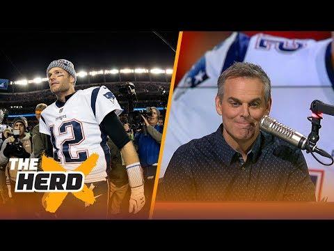 Colin Cowherd on Tom Brady's greatness, Sean Lee's impact after Week 10 | THE HERD
