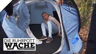 Warum ist Sonja (14) im Zelt? Hat die Stiefmama sie rausgeschmissen? | Die Ruhrpottwache | SAT.1 TV
